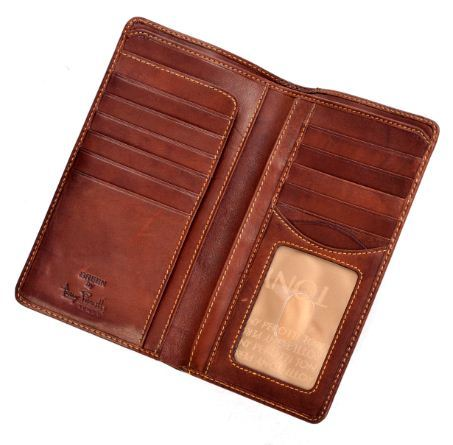 tony perotti pg409001 prima italian breast pocket wallet