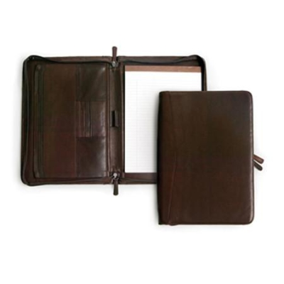 aa24dfc4d34e Osgoode Marley 1810 Leather Zippered Letter Size Writing Pad