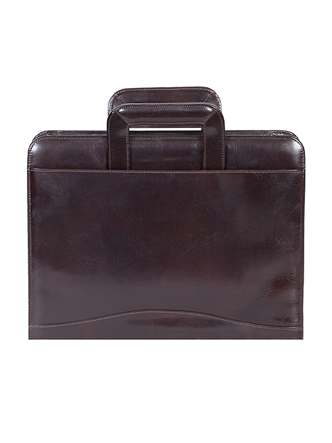 Scully Leather 96z 06 Zippered 3 Ring Binder W Handles