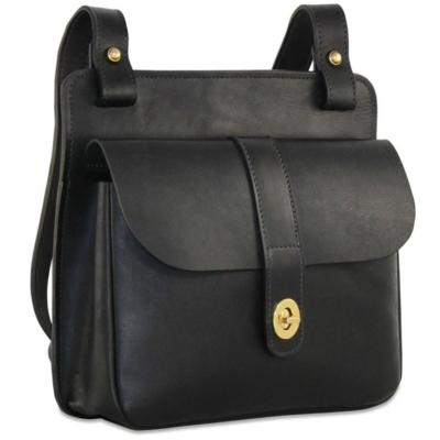 Jack Georges University 2649 Natural Leather Crossbody Handbag f1a8748279e5a