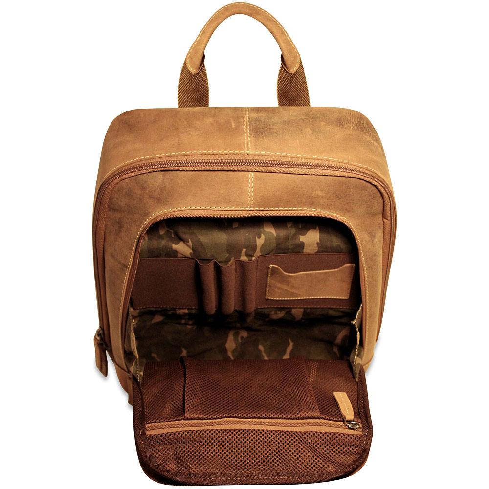 Jack Georges Arizona A4516 Leather Backpack Gene S Luggage