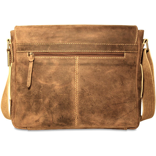 8b0274722196 Jack Georges Arizona A4544 Leather Messenger Briefcase